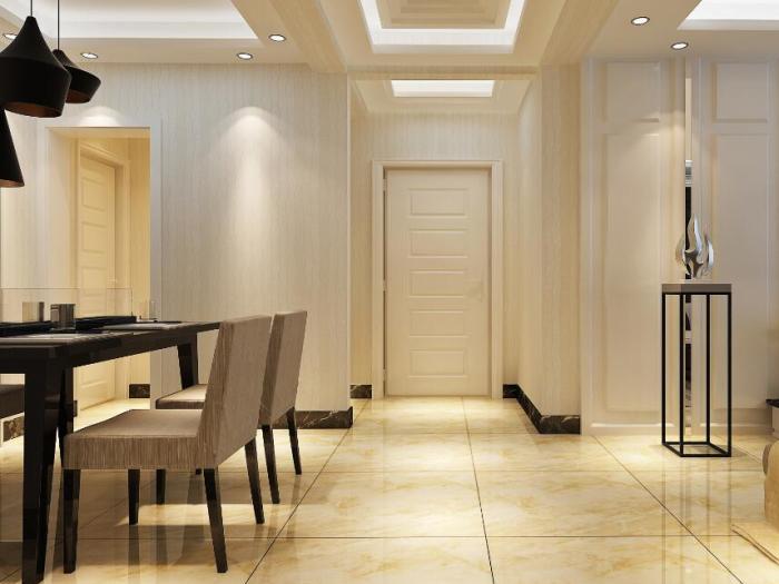 现代简约-150.65平米三居室-装修样板间
