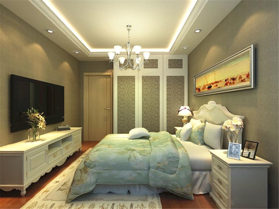 宝龙城 简欧风格 85平米二居室装修图片高清图片