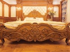 STVILLA 欧式家具 塞特维那 欧式床 柚木床