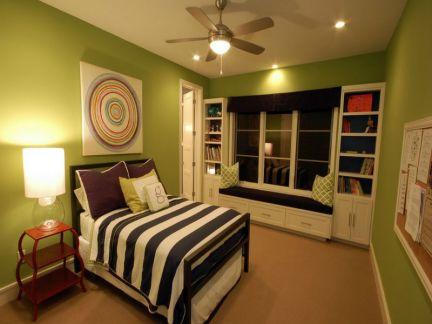 欧式清新古典风格卧室装修效果图