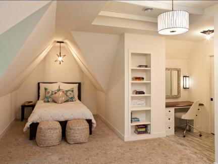 简欧风格白色别墅地下室装修效果图