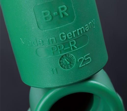 德国洁水25束节