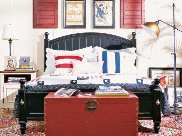 木朵朵美式家具全实木床比邻普林斯特儿童床双人床乡村田