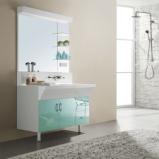 专业非标定制浴室柜西文卫浴K100图片