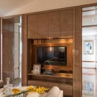 小复式三居室客厅装修效果图