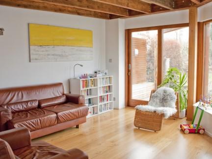简约风格原木色家居宽敞环境装修设计