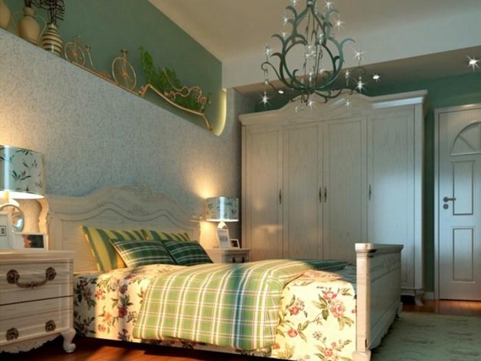 地中海风格-117平米三居室-装修样板间