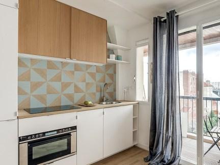 50平米两室一厅简约风格厨房装修效果图