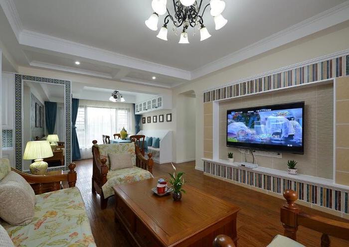 地中海风格-143平米四居室-装修样板间