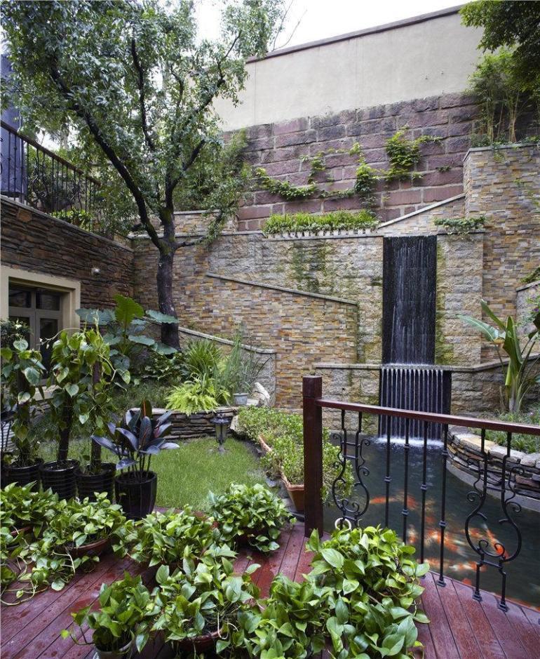 一楼花园装修效果图