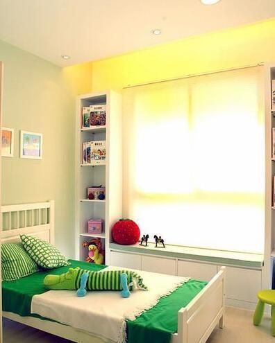 田园风格-76.12平米二居室-装修样板间