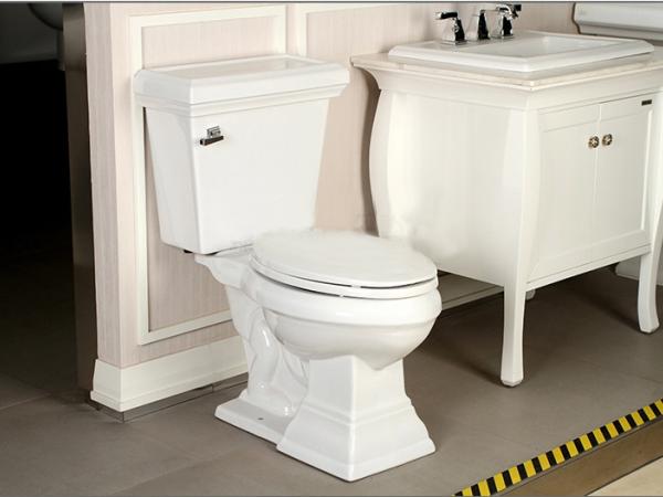 美标卫浴汤司格分体坐便器马桶CP-2198古典豪华版欧式