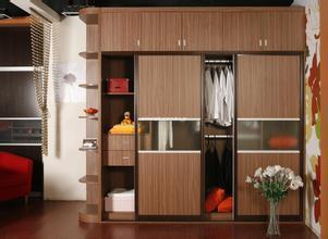 橙子屋现代时尚衣柜 可定制