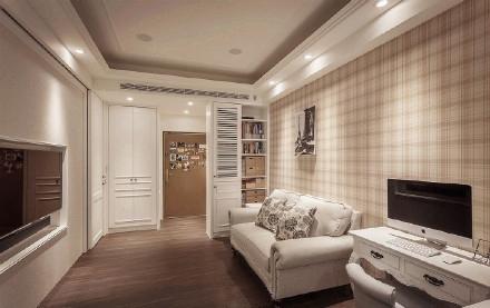 简欧风格-50平米一居室-装修样板间