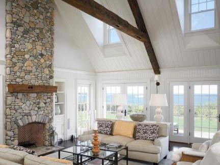 大气欧式风格客厅实用茶几装修实景图
