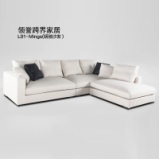 LIGNRUE 转角锐驰沙发大小户型客厅组合布艺沙发图片