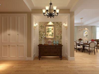现代简约-180平米四居室装修样板间