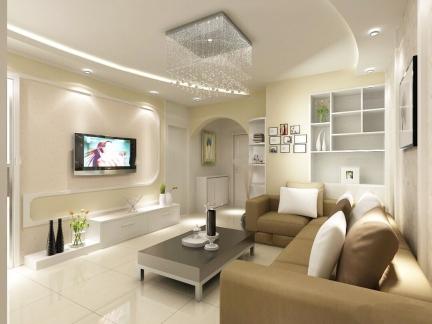 一室一厅小户型装修图片简约风格客厅