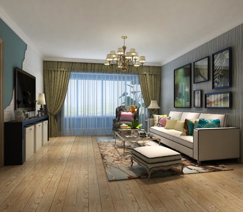 区 混搭风格 94平米二居室装修图片高清图片