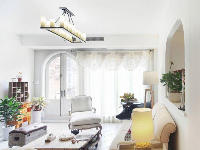 地中海风格-92平米二居室-装修设计