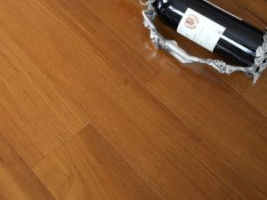 安信地板 缅甸柚木 多层实木复合地板 地暖地热适用