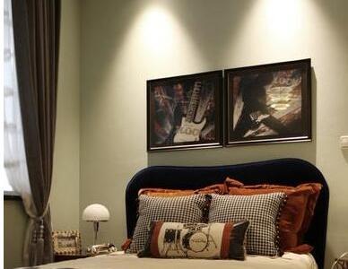 现代简约-98.5平米三居室装修样板间