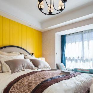 混搭风格二居室卧室装修效果图