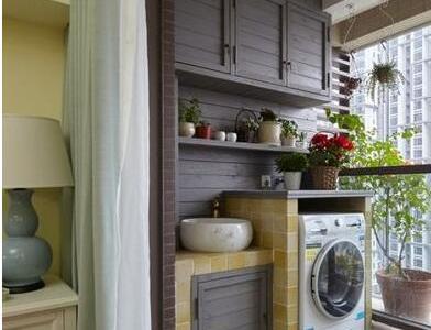 现代简约-92平米二居室装修样板间