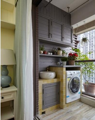 现代简约-92平米二居室-装修样板间