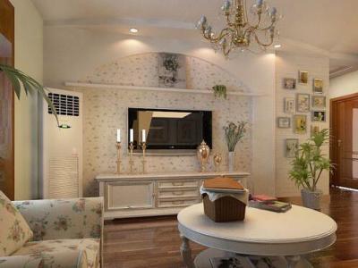 日韩风格-100平米二居室装修样板间