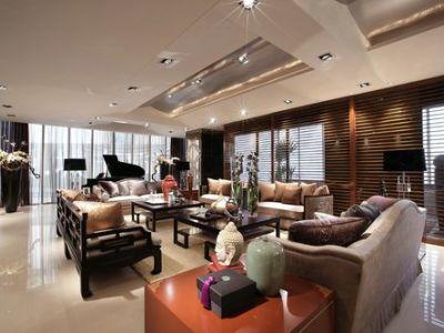西式古典-140平米三居室装修样板间