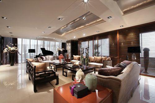 西式古典-140平米三居室-装修样板间