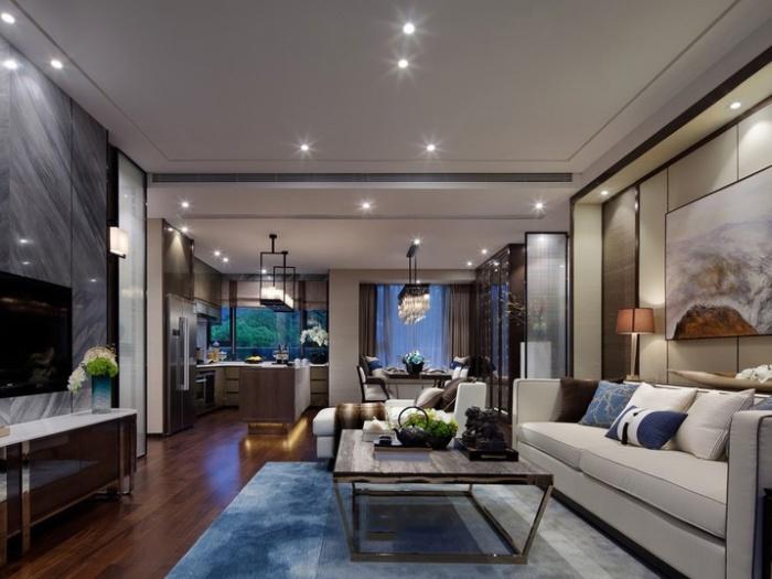 中式古典-272.87平米四居室-装修样板间