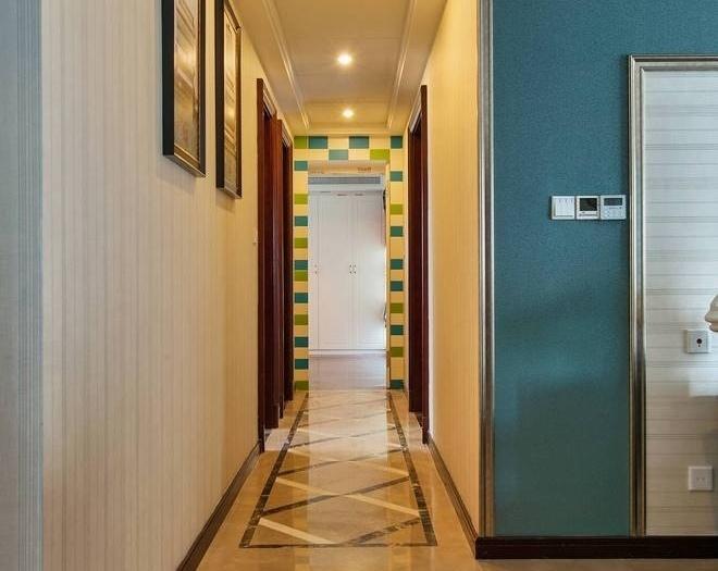 混搭风格-200平米五居室-装修样板间