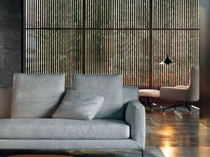 宁静优雅气质现代90平米房屋装修效果图