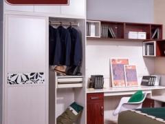 好莱客简雅系列全屋定制 卧室定制家具装修设计效果图