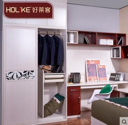 好莱客简雅系列全屋定制 卧室定制家具装修设计品牌好莱客品牌论坛图片