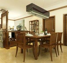 润景园-三居室-120平米-装修设计