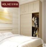 好莱客衣帽间定做整体衣柜 现代简约卧室组合百叶移门收纳衣柜图片