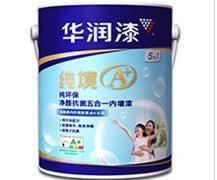 华润漆纯境A 纯环保净醛抗菌五合一内墙漆