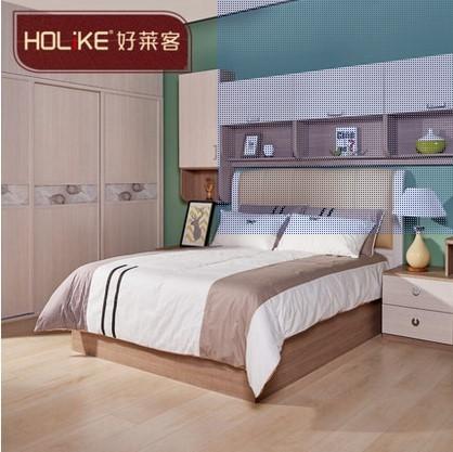 好莱客北欧风情系列次卧家具 客房装修效果卧室定制方案