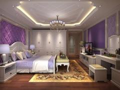 丹枫白露欧式卧房家具唯尊定制免费量尺安装
