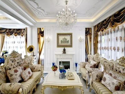 法式风格-230平米四居室装修样板间