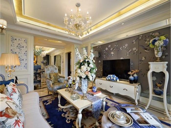 法式风格-230平米四居室-装修样板间