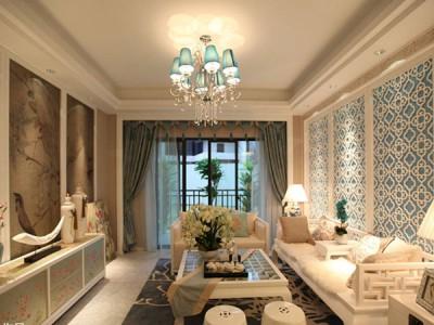 中式风格-183平米三居室装修样板间