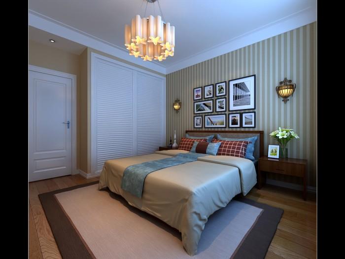 现代简约-148.13平米三居室-装修样板间