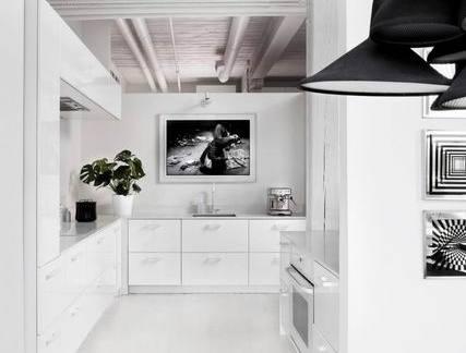 50平米小户型厨房装修效果图