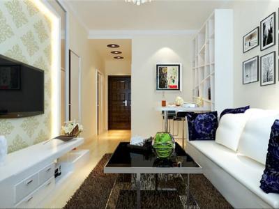 现代简约-50平米一居室装修样板间