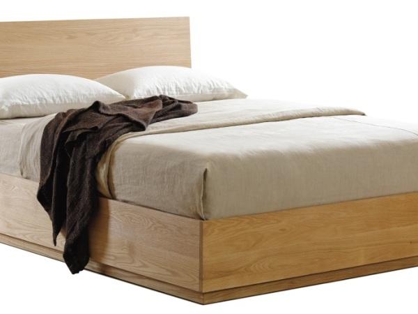 原生居品实木家具红橡木双人床