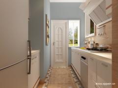 现代风格整体厨房